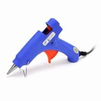 Glue Gun, small, 12 W, Blue color, gunpoint dia 0,75 cm