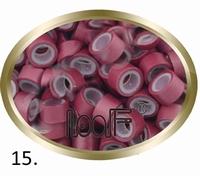 Microringen, Silikonen Ausführung, Farbe *Burgundy