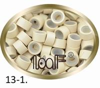 Micro Ring aluminium siliconen type, *13-1-Platinum Blond