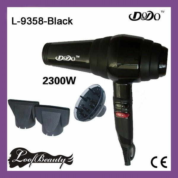 Professionele Föhn, 2300 W, kleur zwart