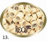 Microringen, Silikonen Ausführung, Farbe *13-Blond