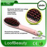 Brosse lisseur cheveux -pink