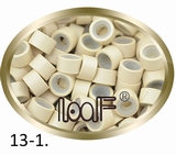 Microringen, Silikonen Ausführung, Farbe 13-1-Platinum Blond
