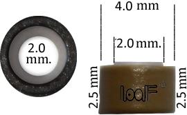 Microring 4.0*2.0*2.5 mm.