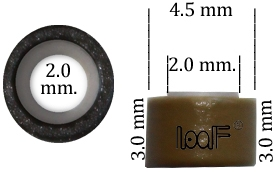 Microring 4.5*2.5*3.0 mm.